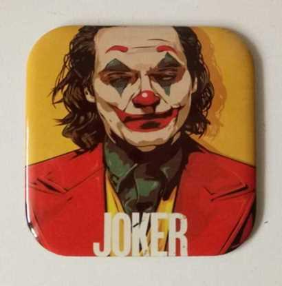 Picture of Metal Bardak Altlığı - arkası mantarlı ( Joker  )