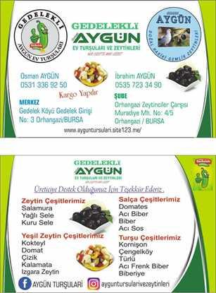 Picture of Gedelekli Osman AYGÜN EV TURŞULARI 0 no Kornişon salatalık Turşusu