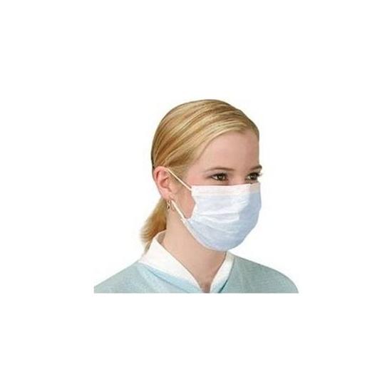 Koruyucu Bakteri Filtreli Yüz burun maskesi - Lastikli resmi