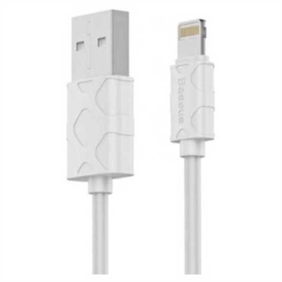 Baseus Yaven iPhone Kablo 1M Beyaz resmi