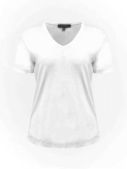 V Yaka Basic T-Shirt resmi