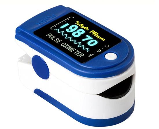 Picture of Pulse Parmak Tipi Oksimetre Kan Oksijen Nabız Ölçer oximeter
