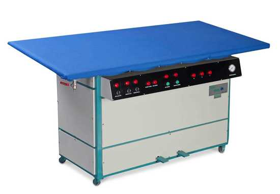 TRİKO ÜTÜSÜ FULL AUTOMATIC STEAM IRONING TABLE FOR TRICOT resmi