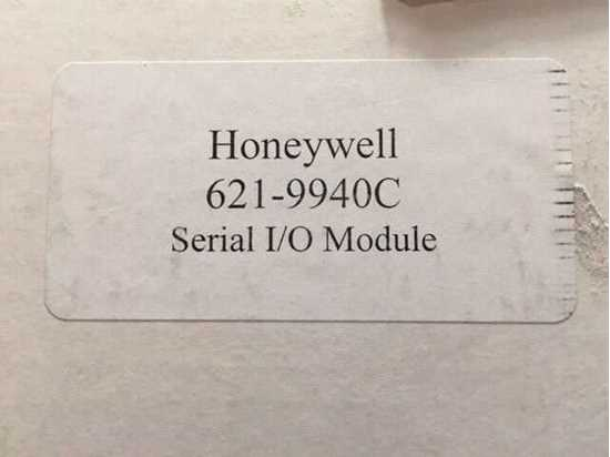 Picture of Honeywell S9000 Second Hand Parts SERIAL IO MODULE 621-9940C