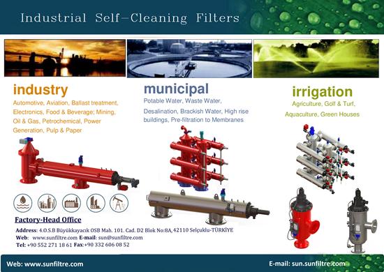 Picture of kendi kendini temizleyen filtre