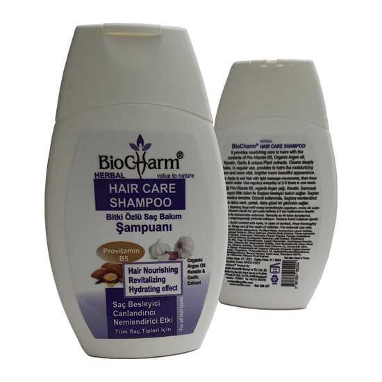 BioCharm Bitki Özlü Saç Bakım Şampuanı / HERBAL HAIR CARE SHAMPOO 300 ml resmi