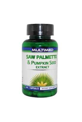 Multimed Saw Palmetto Pumpkın Seed Extract 60 Kapsul resmi