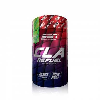 Picture of SSN Cla Refuel 1250 Mg 100 Softgel